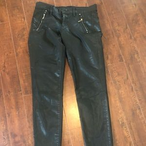 White House Black market acrylic covered pant